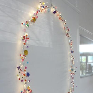 Folklore Circle Lights - 40cm Hoop
