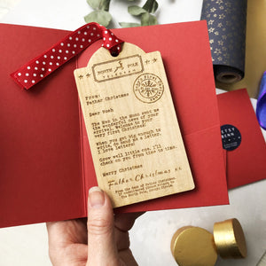 Baby's First Christmas Ornament | Letter from Father Christmas