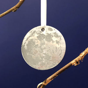 Full Moon Personalised Bauble-Decoration-Betsy Benn