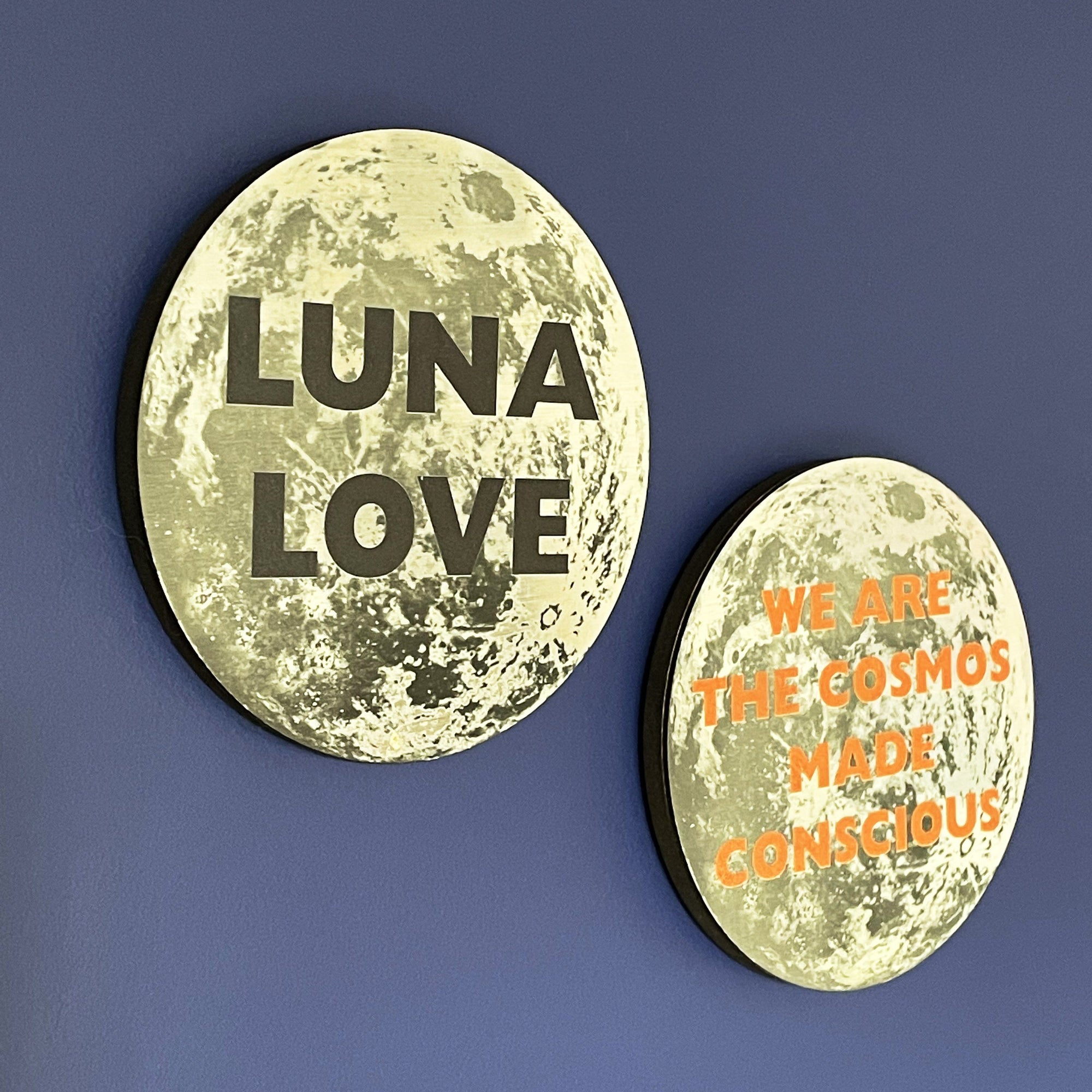 Mini Moon Personalised Wall Plaque
