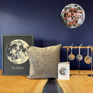 Super Moon Personalised Wall Plaque
