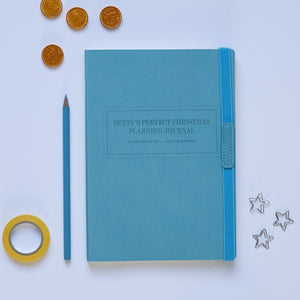 Turquoise Christmas Planning Notebook
