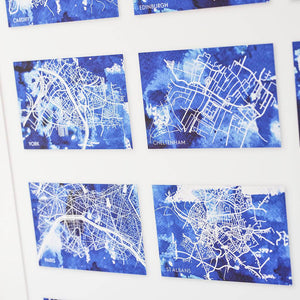 City Adventures Personalised Map Print-Print-Betsy Benn