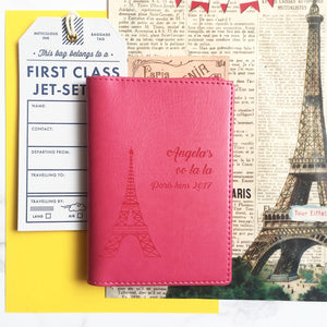 Paris Personalised Passport Cover-Gift-Betsy Benn