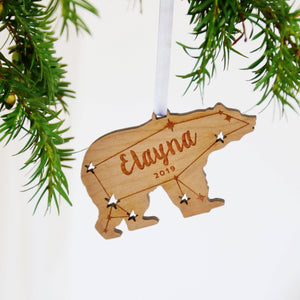 Polar Bear Christmas Ornament  Decoration - Betsy Benn