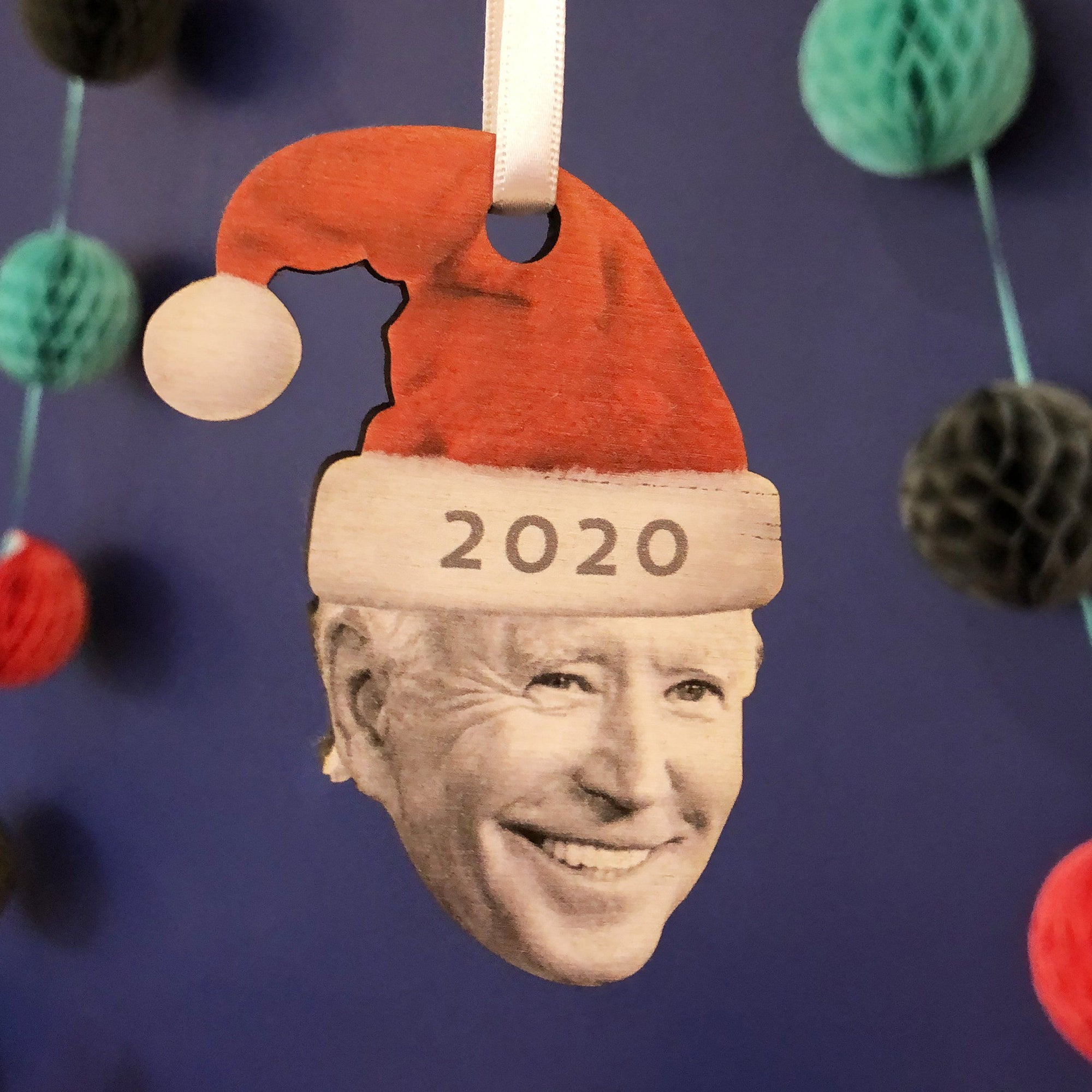 Joe Biden 2020 Christmas Tree Ornament