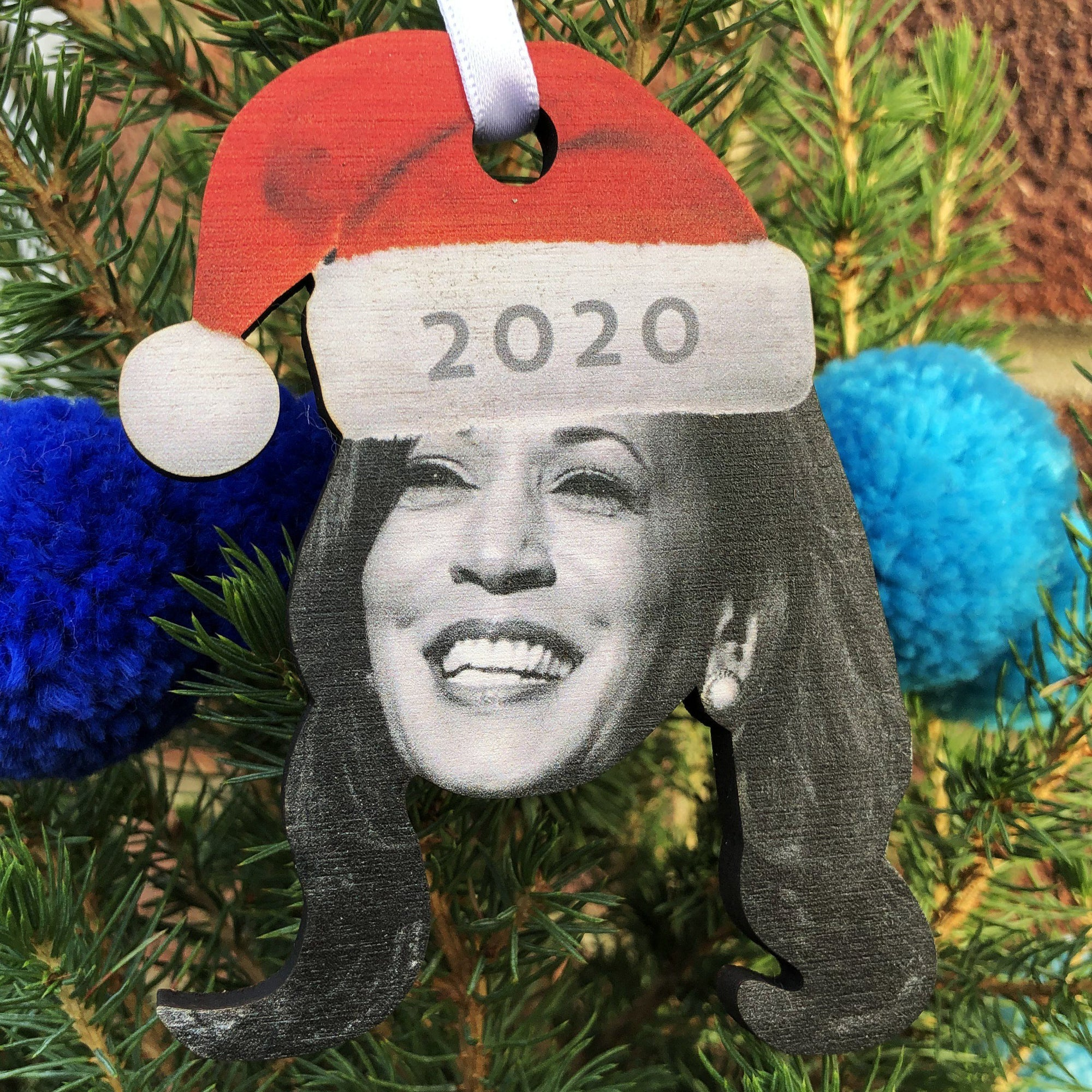 Kamala Harris 2020 Christmas Tree Ornament-Betsy Benn