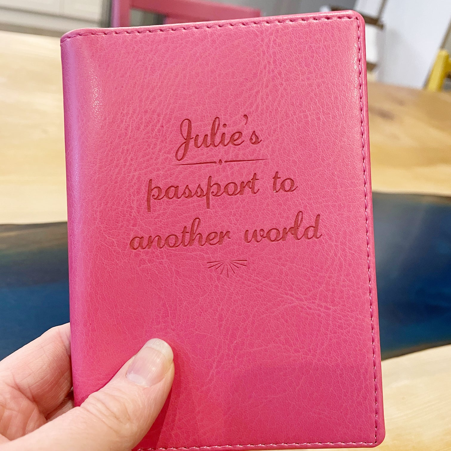 Passport - Personalised Clearance Passport Cover - Julie