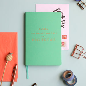Big Ideas Personalised Luxury Notebook Journal
