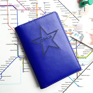 Name In Star Passport Wallet Holder-Gift-Betsy Benn