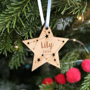 Star Christmas Tree Ornament