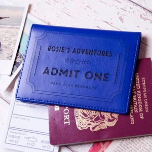 Ticket to Adventure Passport Cover Holder