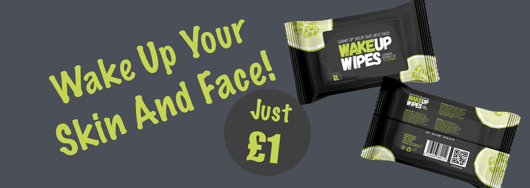 Wake Up Wipes