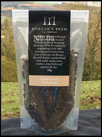 Cardigan Caravan (Blend of Oolong and Smoky Lapsang Tea) 100g