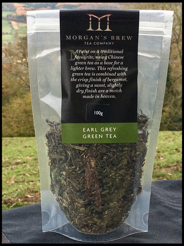 Earl Grey Green Tea (Green Tea & Bergamot) 100g