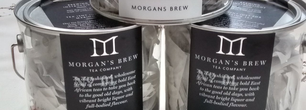 Morgan's Brew Tea Caddies