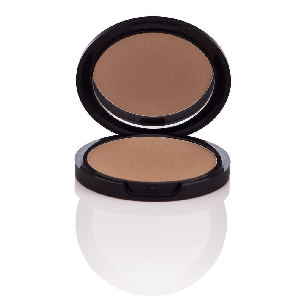 Natural Pressed Powder Foundation For Medium To Full Coverage Nu Evolution Cosmetics