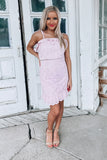Splendid Eyelet Dress - Blush