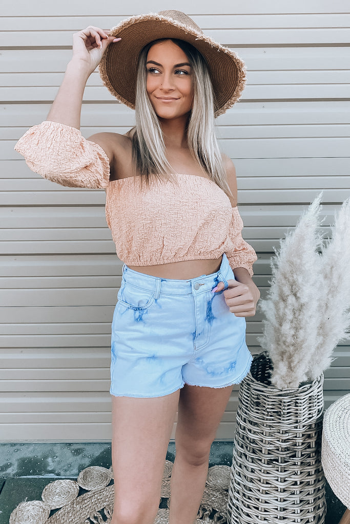 Lyss Crop Top - Orange