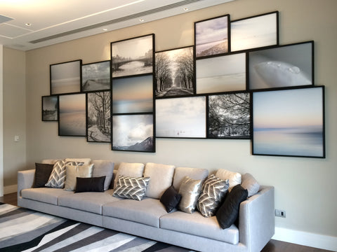 Na Casa Do Cliente: Gallery Wall.