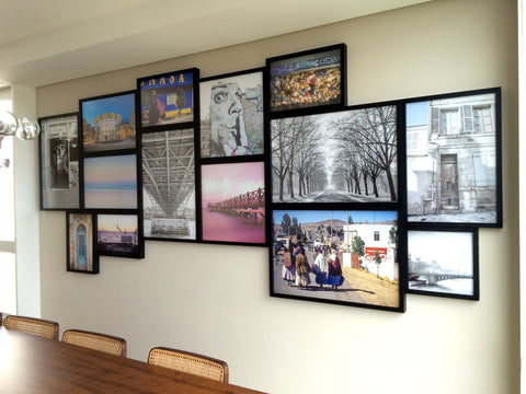Na Casa do Cliente: Gallery Wall