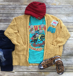 The Butter Popcorn Sweater Cardigan