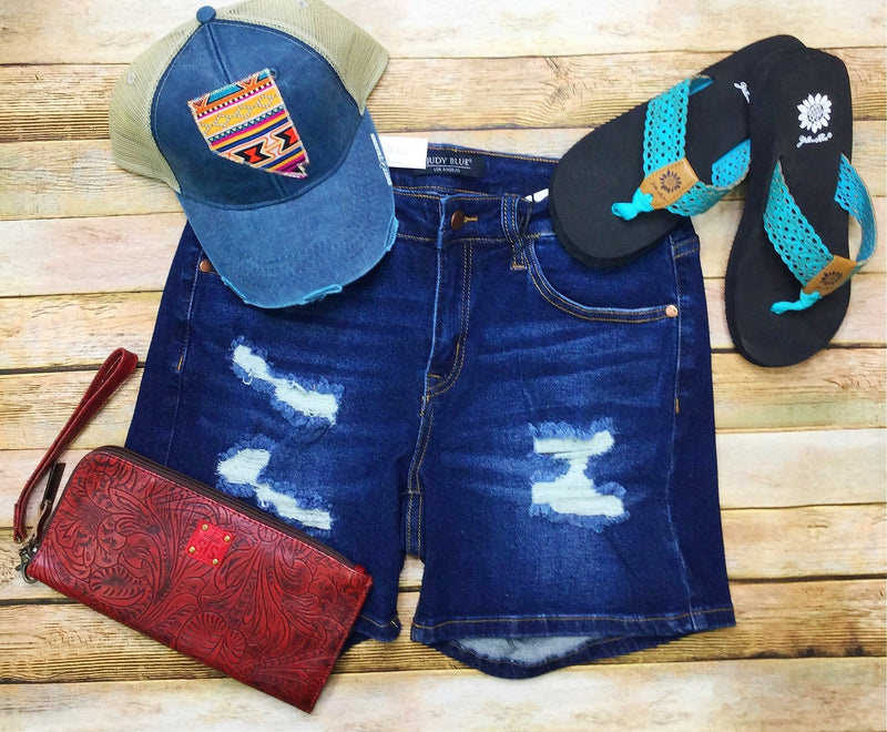 Judy Blue Denim Shorts