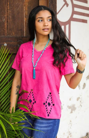The Zingo Tribal Pocket Tee