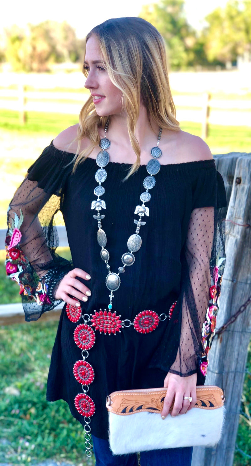 The Black Canyon Embroidered Tunic
