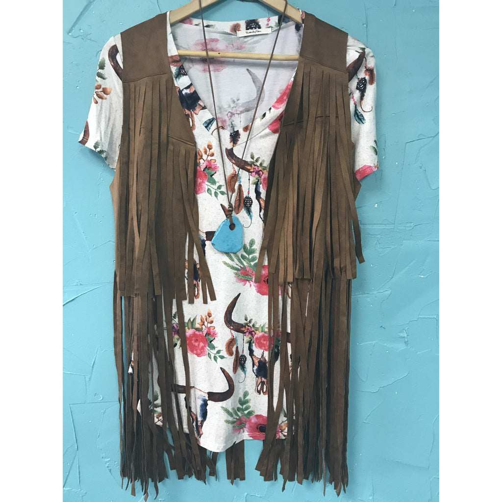 The Fabulous Fringy Fringe Vest!