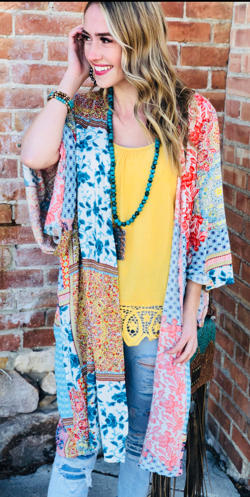 The Summer Bettina Boho Kimono