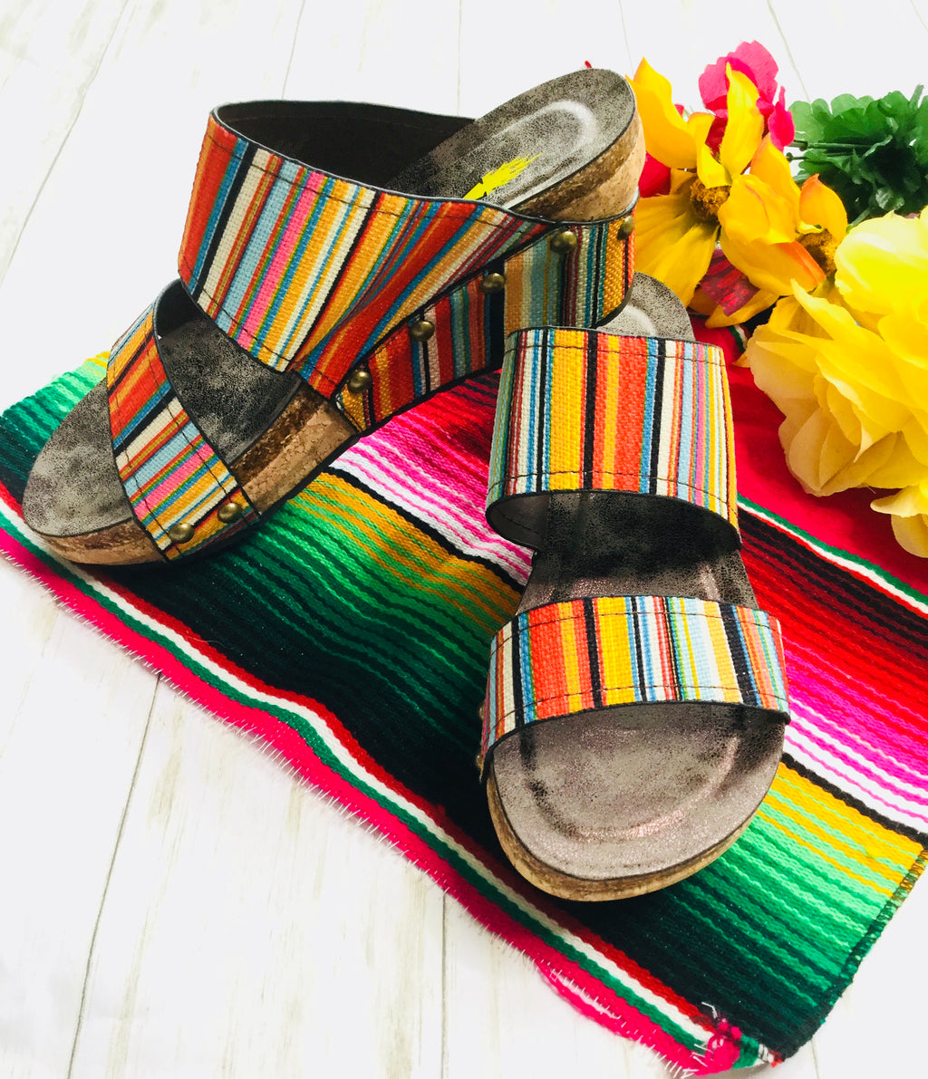 The Tucson Wedge Sandal