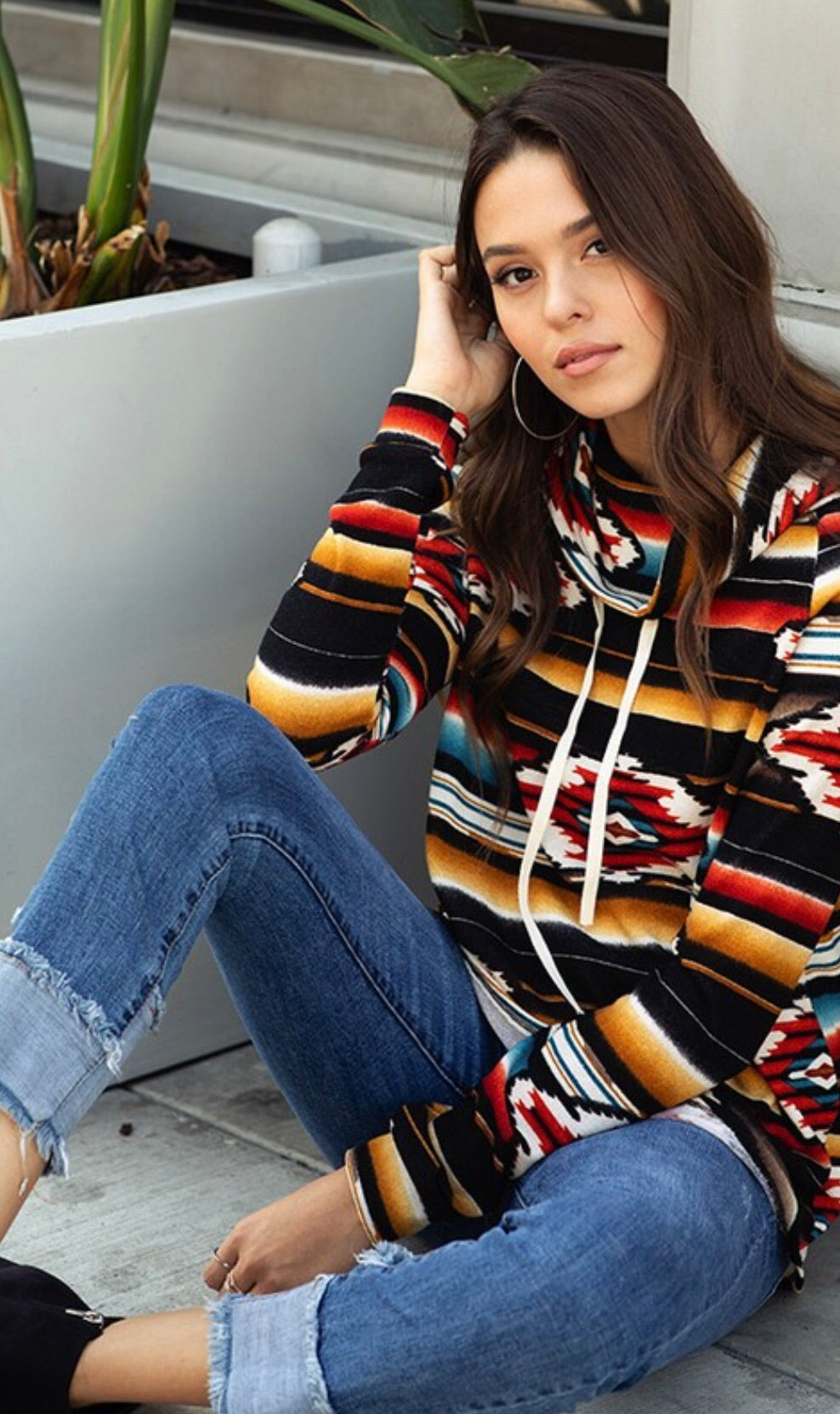 The Tabula Tribal Pullover