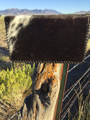 The Hico Hair On Organizer Clutch Wallet