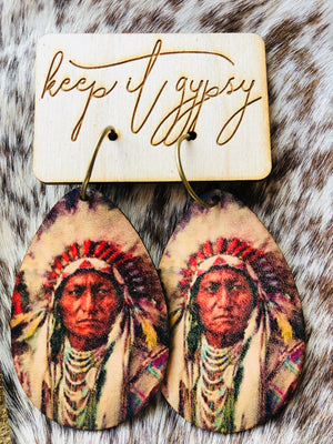 Chief Earrings!