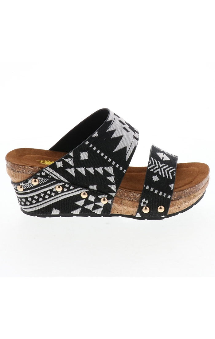 The Santa Fe Wedge Sandal
