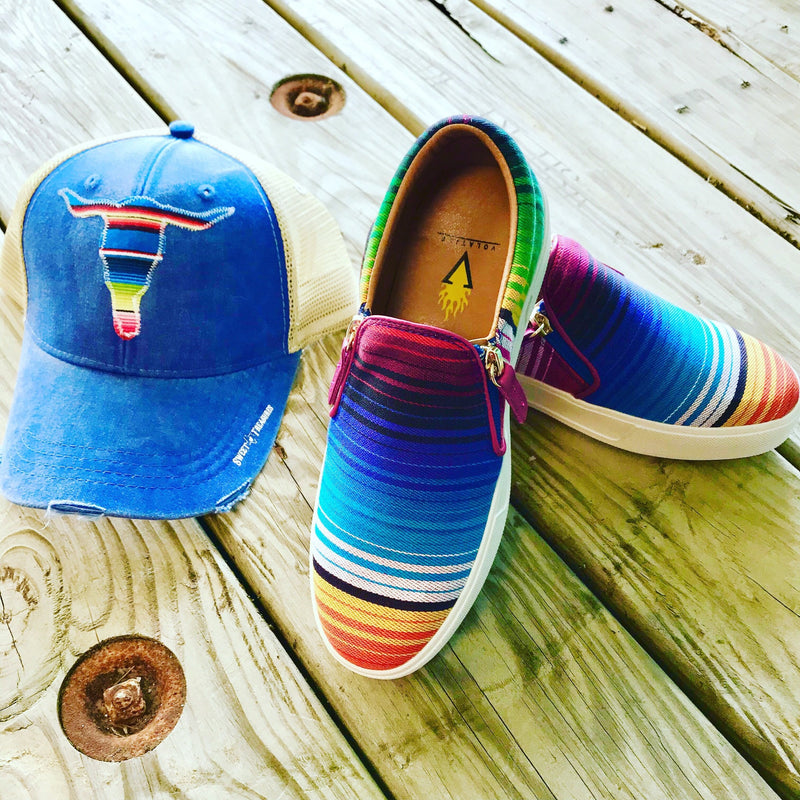 Serape Steer Hat
