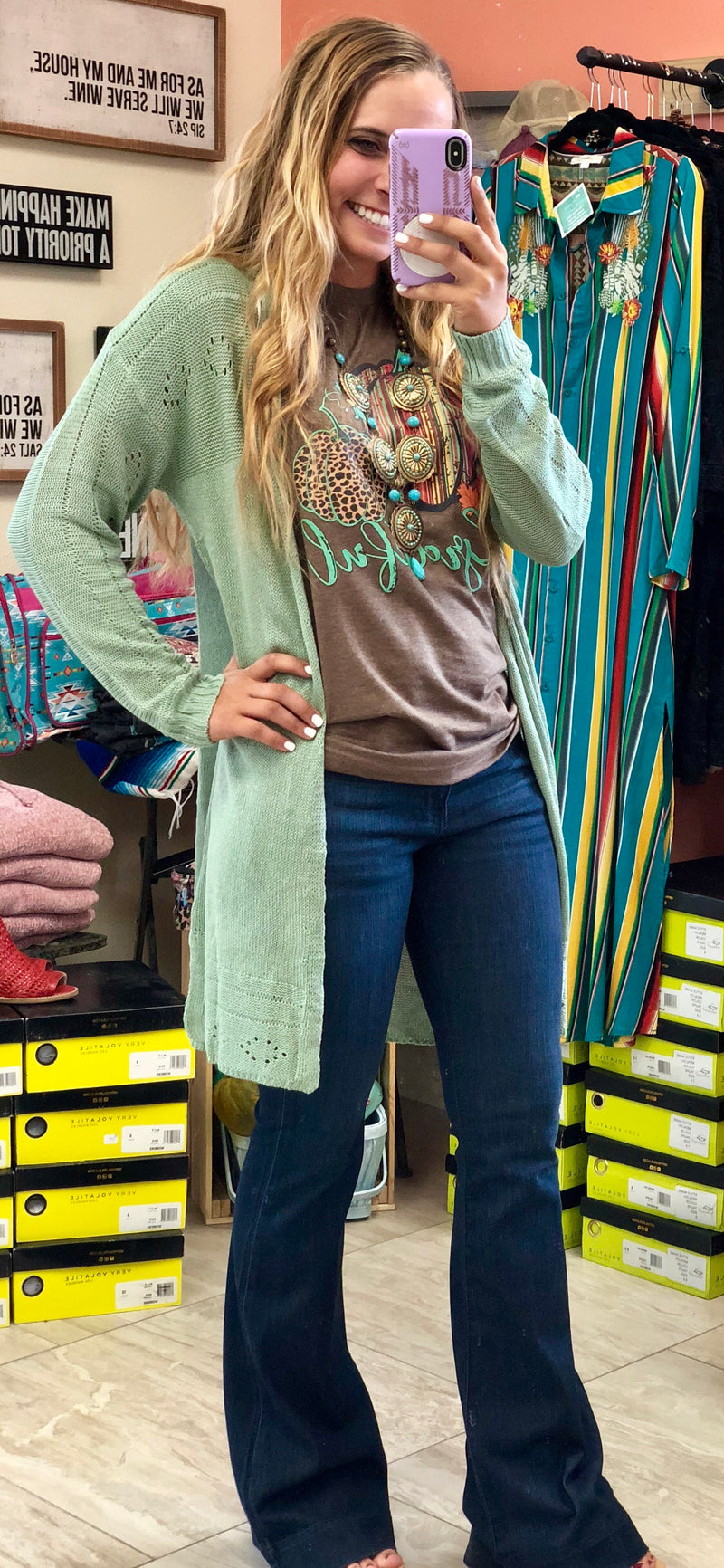 The Montero Mint Cardigan