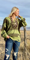 The Tribal Piney Woods Sweater