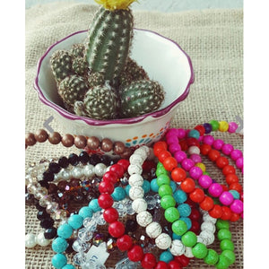 Colored Stretchy Bracelets