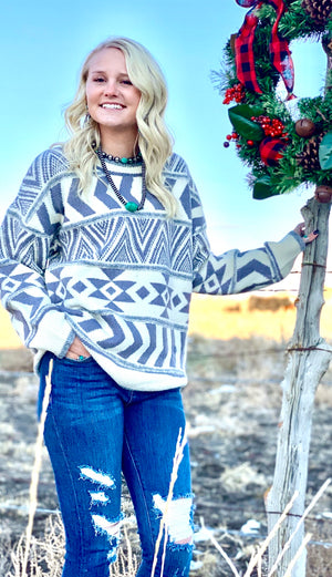 The San Juan Aztec Sweater