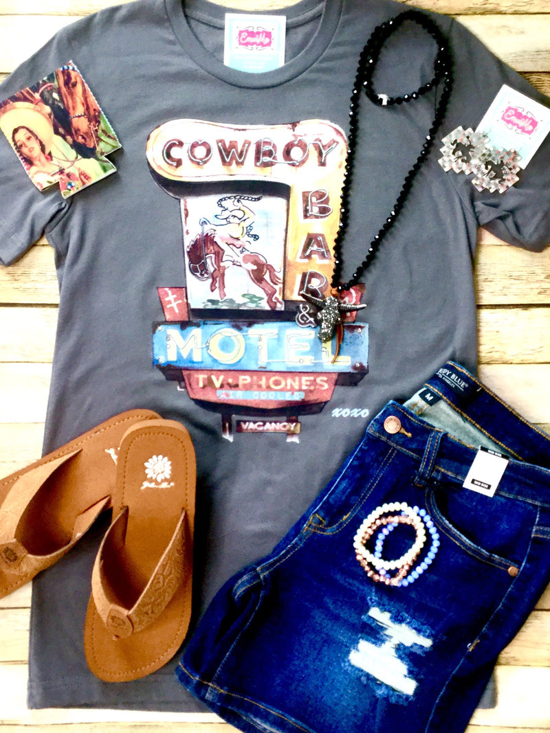 The Cowboy Motel Tee