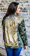 The City Lights Camo Sequin Jacket