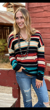 The San Juan Fall Serape Sweater