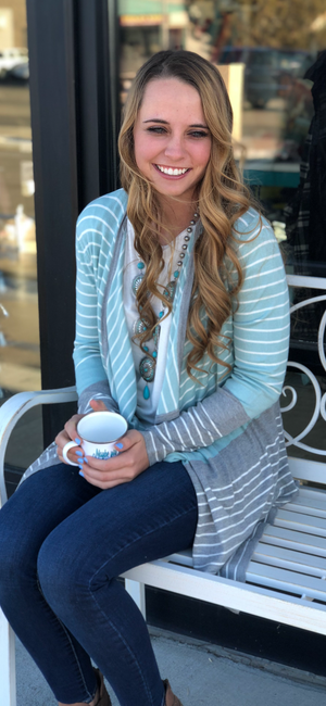 Sassy Stripes Cardigan