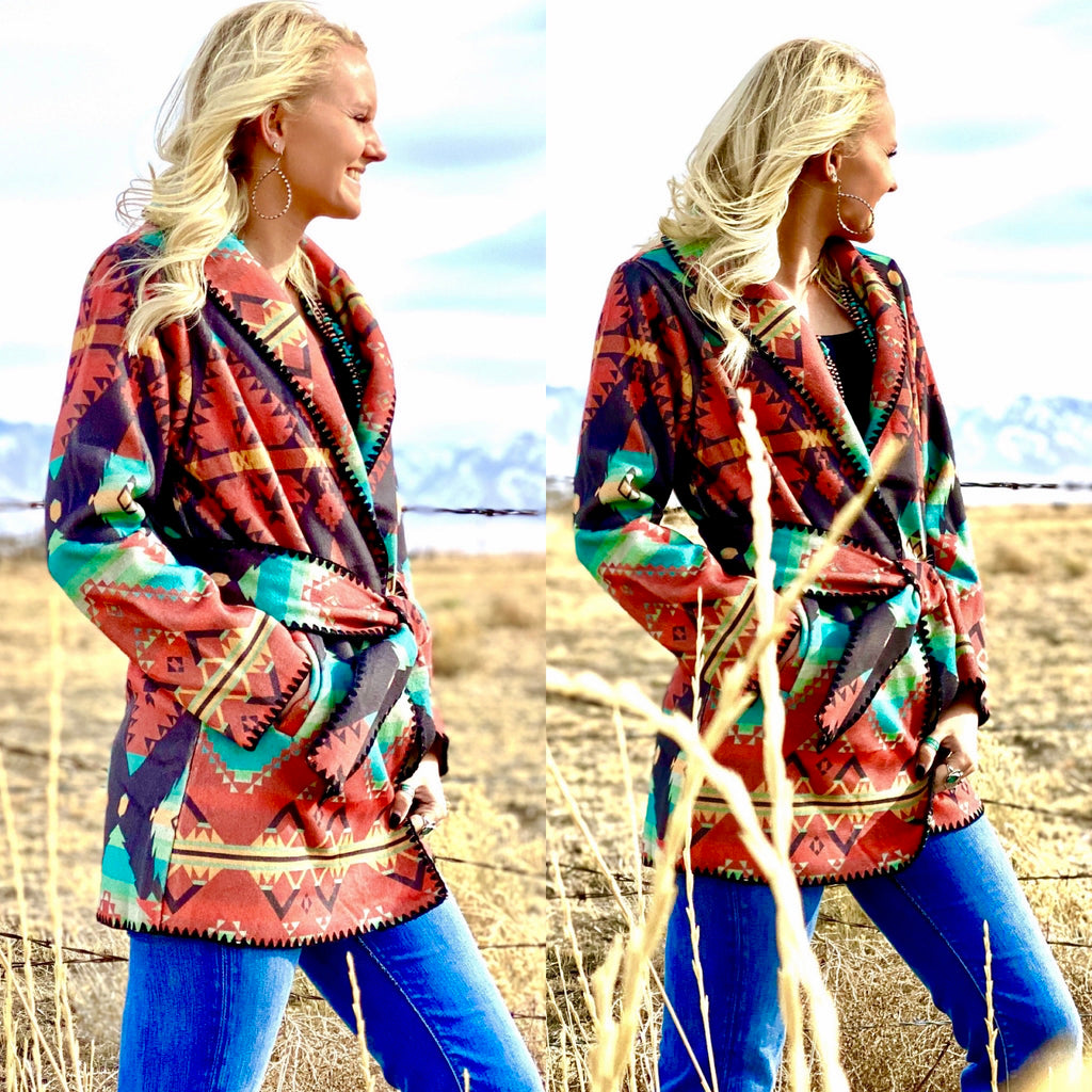The Bismark Tribal Jacket