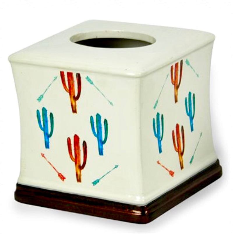 Southwest Cactus Tissue Holder