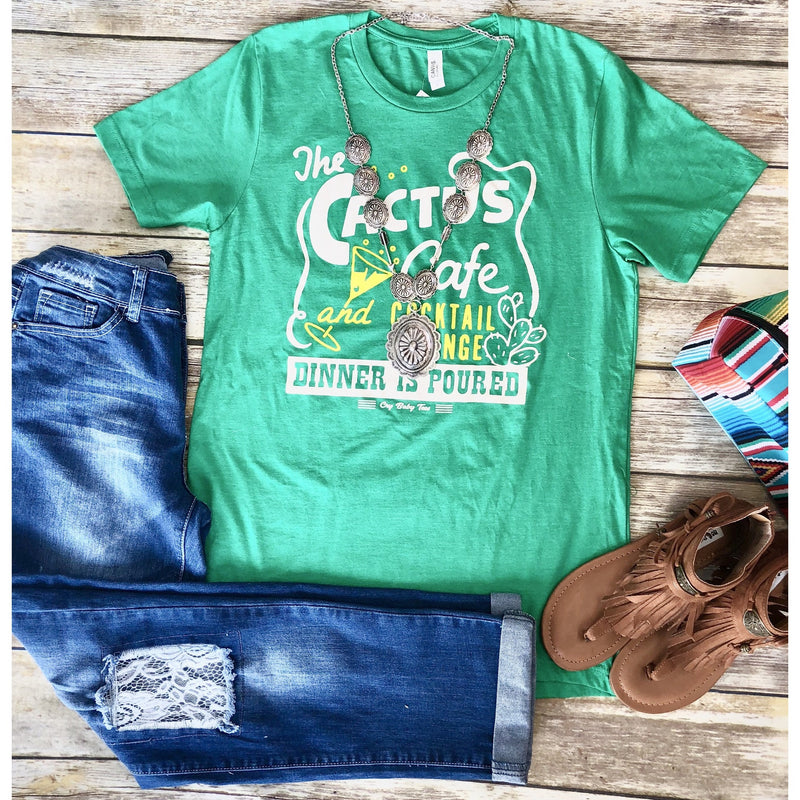 The Cactus Cafe Tee