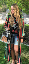 The Yellowstone Serape Maxi Dress/Jacket