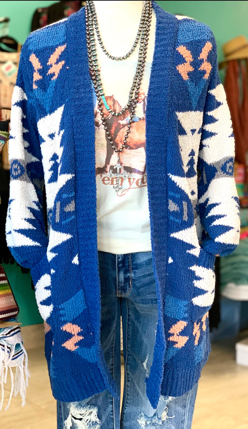 The Plains Tribal Cardigan